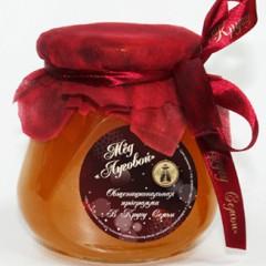 Мёд с логотипом